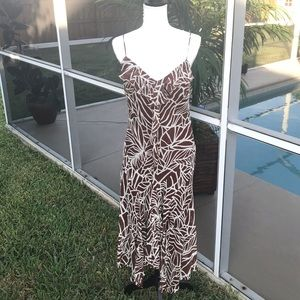 BCBG Paris Womens Size 10 Spaghetti Strap Dress